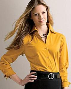 blusa-camisa-mostarda-mangas-longas-trabalho